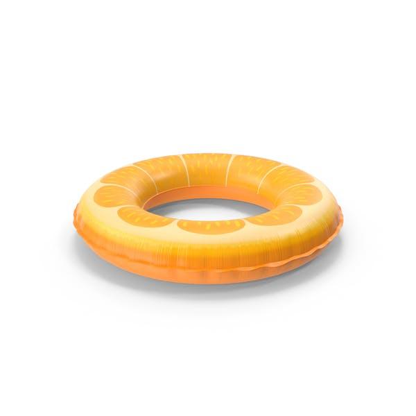 Оранжевый бассейн Поплавок кольцо
