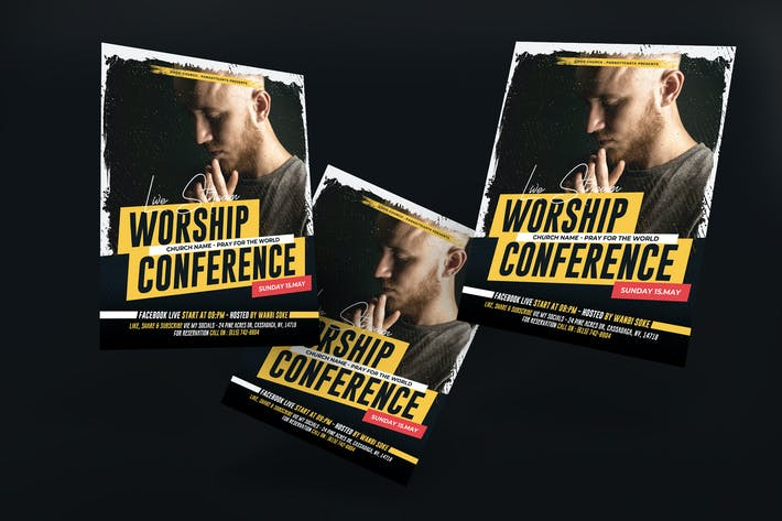 Thumbnail for Church Conference Poster