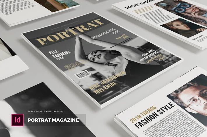 Thumbnail for Potrat | Magazine Template