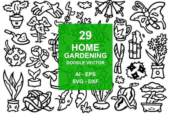 Thumbnail for 29 Home Garden Doodles