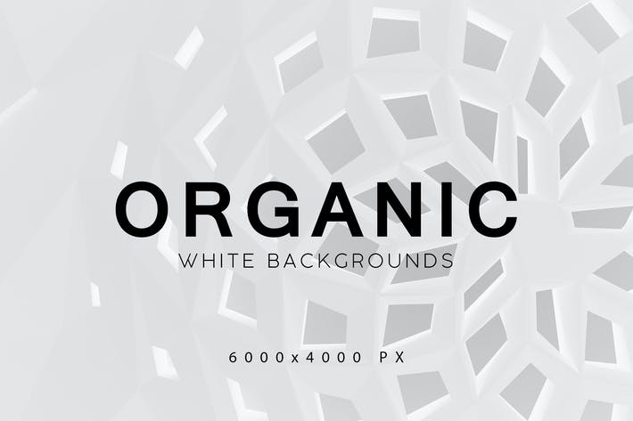 Thumbnail for White Organic Backgrounds 3