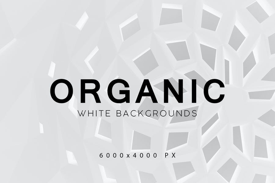 White Organic Backgrounds 3