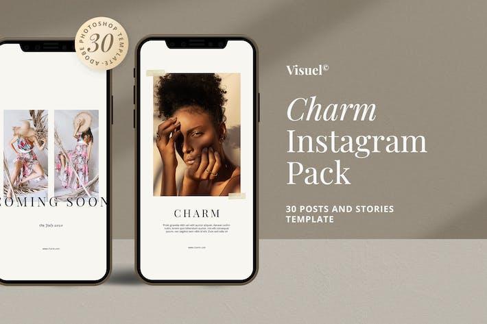 Charme - Pack Instagram