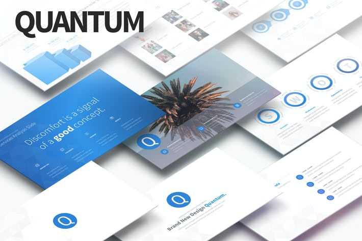 Thumbnail for QUANTUM - Multipurpose PowerPoint Presentation