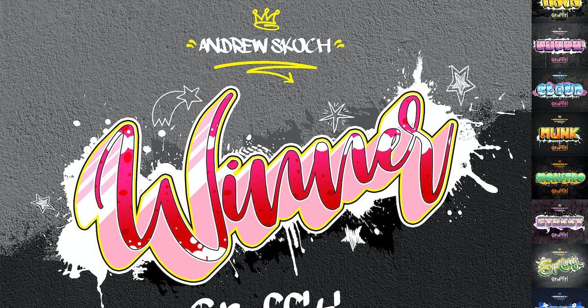 Download Graffiti Text Effects - 10 PSD - vol 3 by Sko4