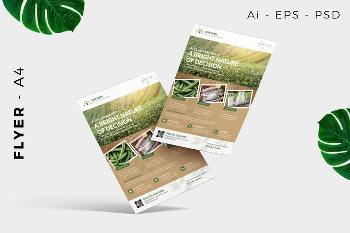 Thumbnail for Agriculture / Farming Flyer Template Promotion