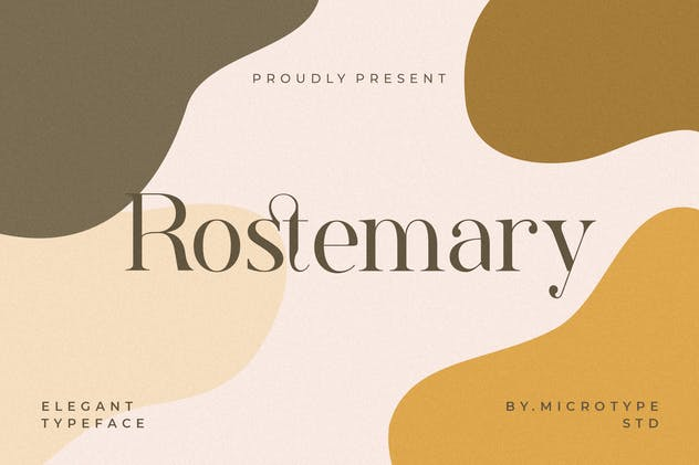 Rostemary Elegant Serif - product preview 11
