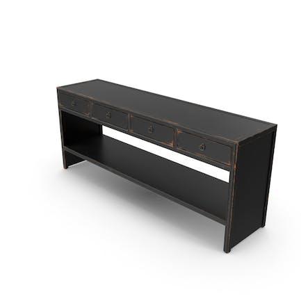 Mesa consola tradicional