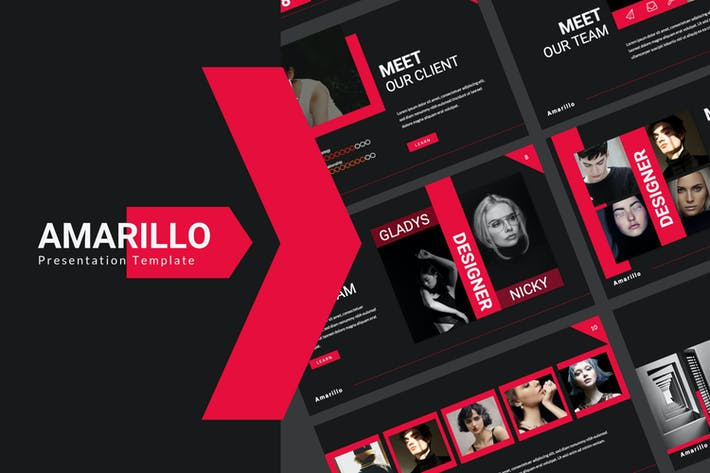 Amarillo Black Presentation