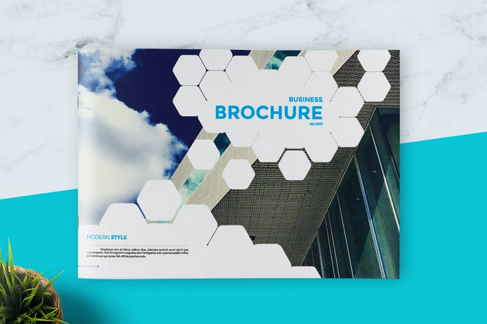 Thumbnail for Hexagon Business Brochure