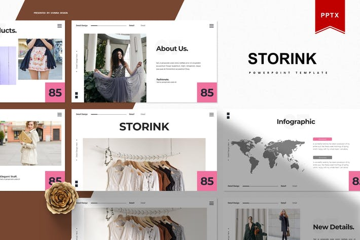 Storink | Powerpoint Template