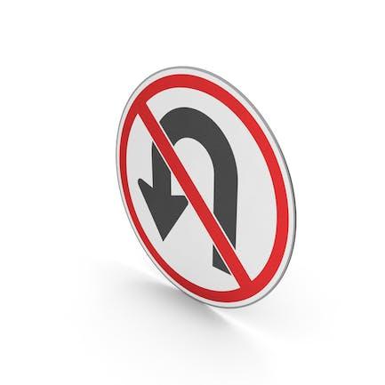 Verkehrszeichen Keine U-Turn