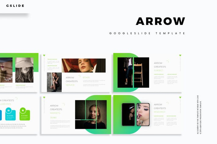 Arrow - Google Slides Template