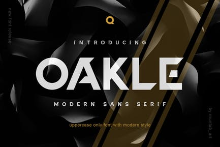 Oakle | Modern Sans