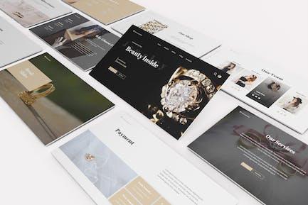 Jewelry Shop Google Slides Template