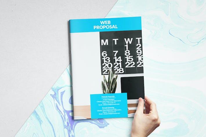 Thumbnail for Web Proposal Brochure
