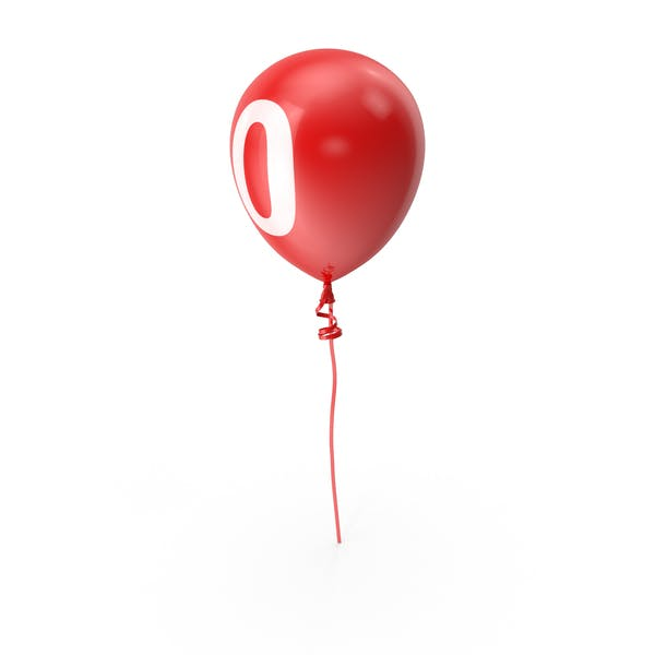 Thumbnail for Number 0 Balloon