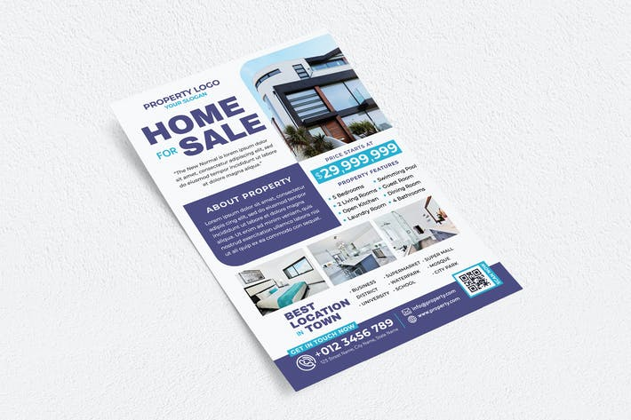 Thumbnail for Home For Sale Flyer