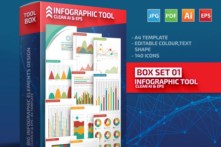 Thumbnail for Box Set 01 Infographic Creator Tools