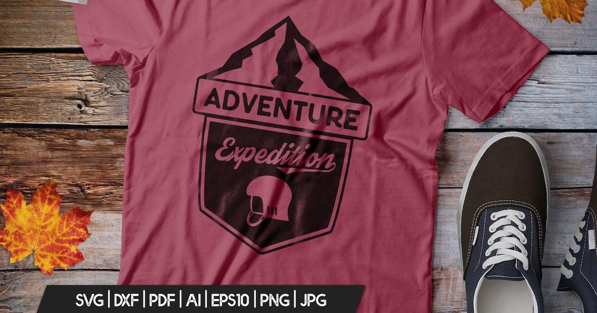 Download Vintage Adventure Logo / Retro Camp Hipster Badge by JeksonJS