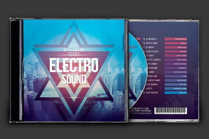 Thumbnail for Electro Sound CD Cover Artwork