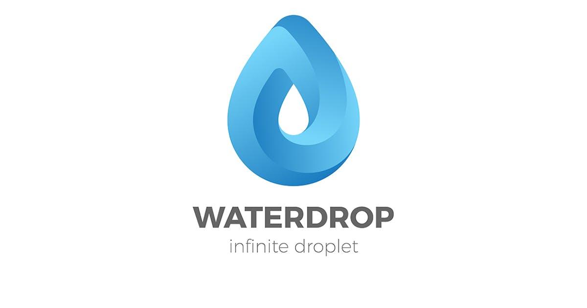 Download Droplet Logo Water Liquid Drink Drop infinity by Sentavio