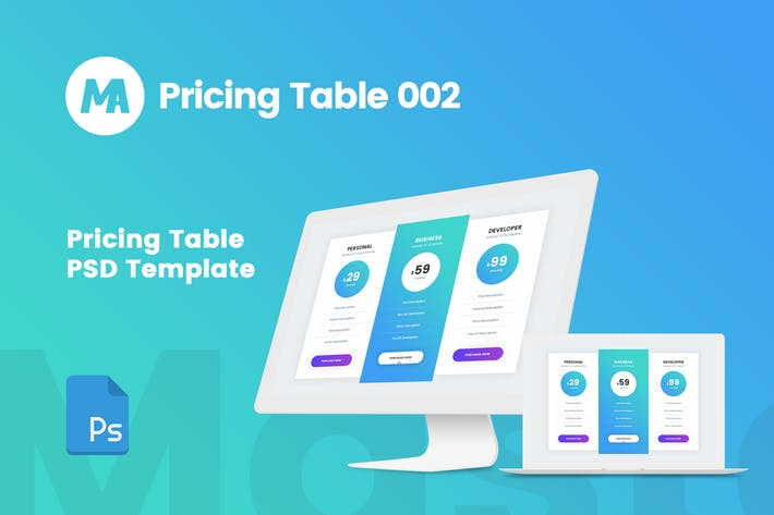 Thumbnail for MA - Pricing Table 002