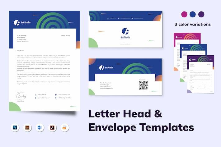 Thumbnail for Letterhead Envelope