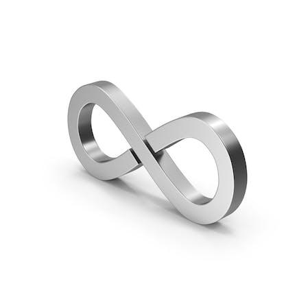 Symbol Infinity Silver