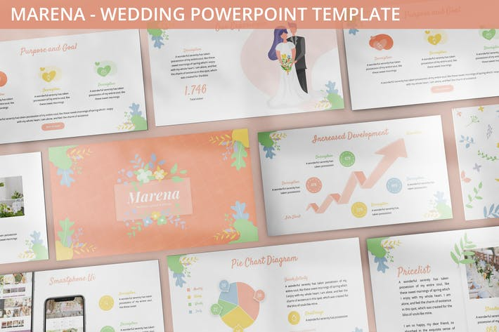 Thumbnail for Marena - Wedding Powerpoint Template