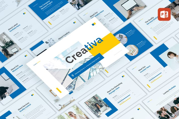 Thumbnail for Creativa - Business PowerPoint Template