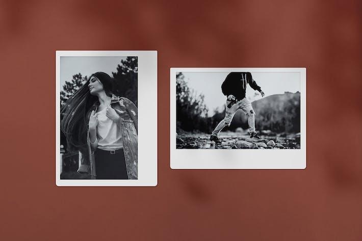 Polaroid Photo Mockup