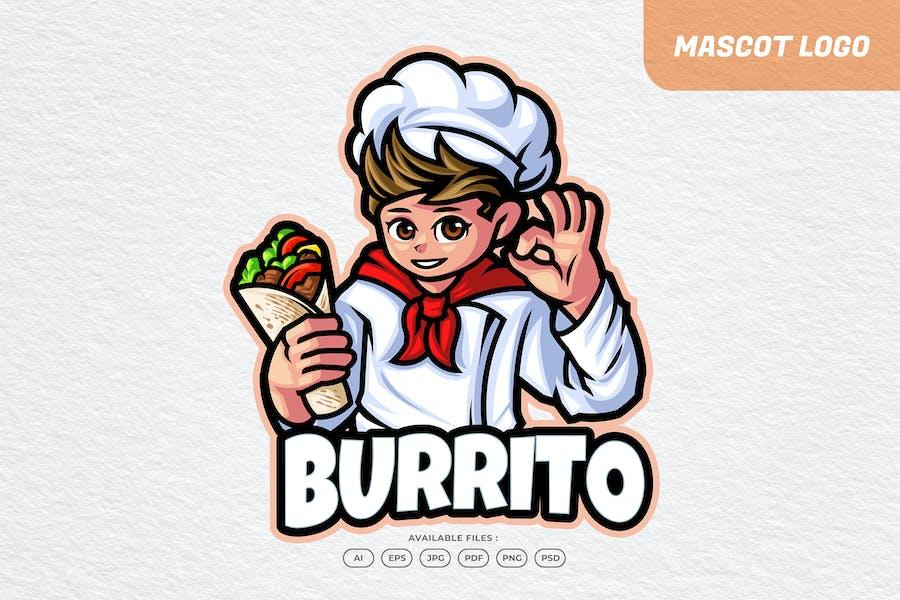 Burrito Chef Logo