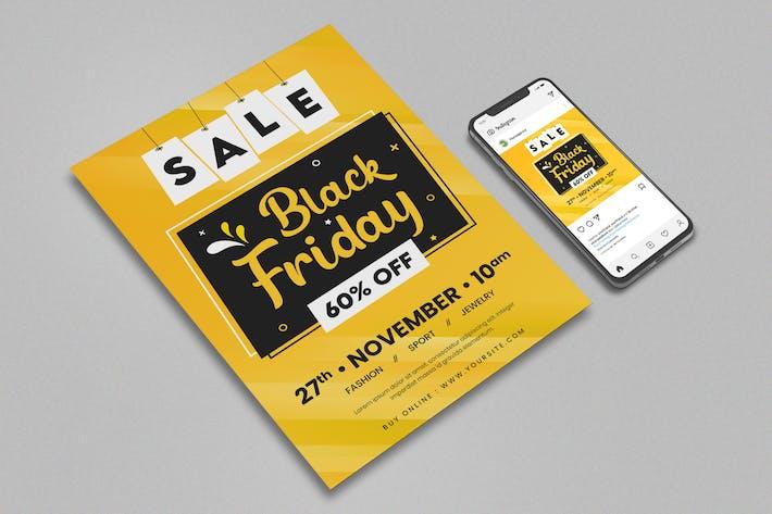 Black Friday Flyer & Instagram Post Design