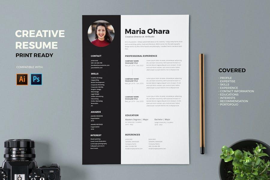 Resume / CV Template Pro
