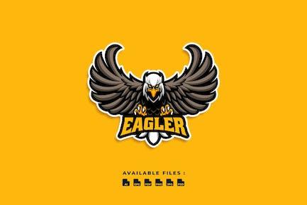 Eagler Character Logo