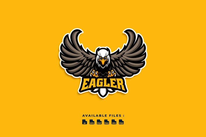 Thumbnail for Логотип персонажа Eagler
