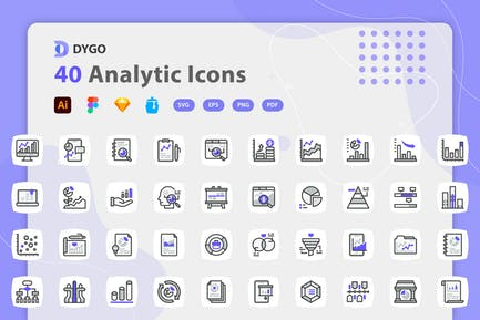 Dygo - Analytic Icons
