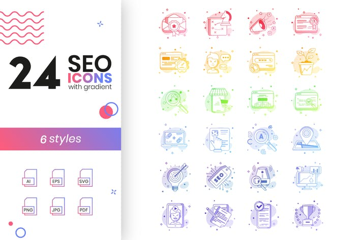 Thumbnail for SEO Icons