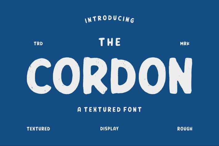 Thumbnail for Cordon | Vintage Typeface