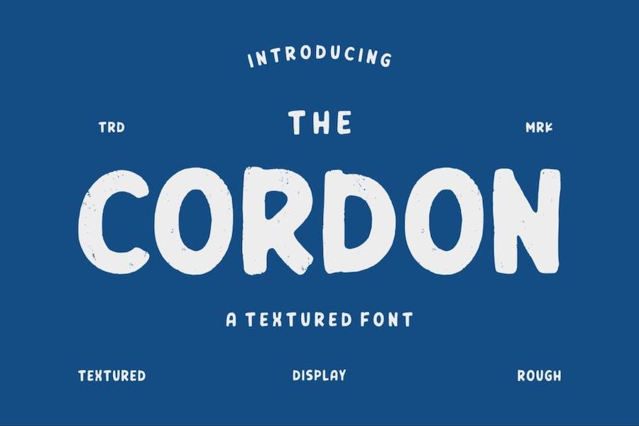 Cordon   Vintage Typeface
