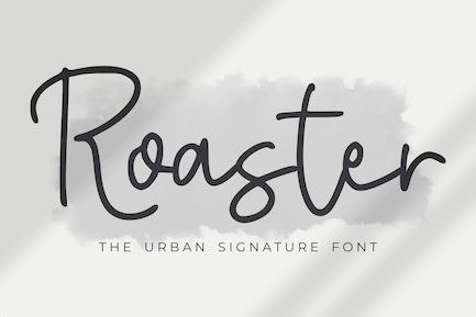 Roaster - The Urban Signature Font