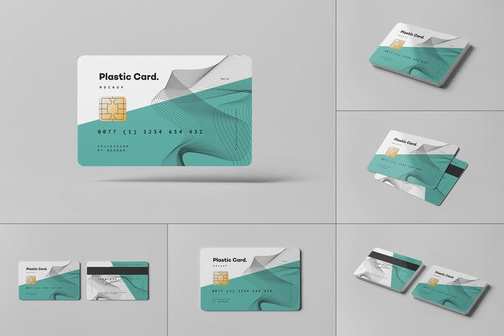 Thumbnail for Plastic Card Mock-up