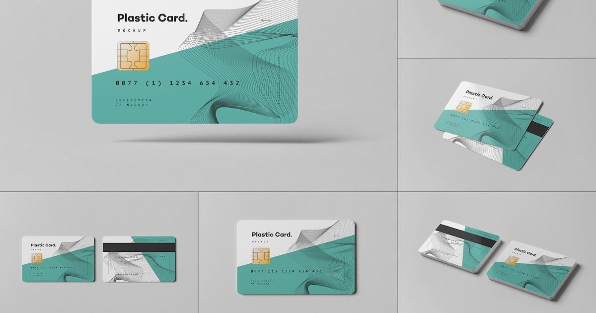 Plastic Card Mock-up by yogurt86