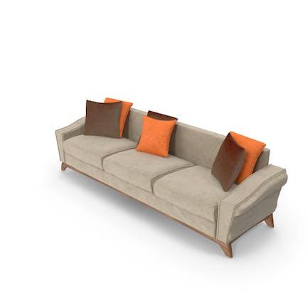 Triple Seat Sofa