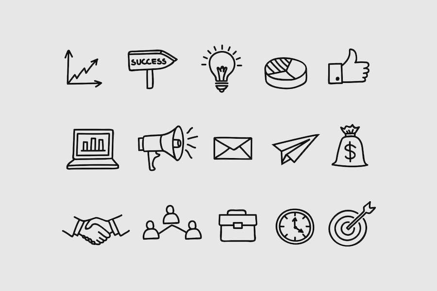 15 Business Doodles