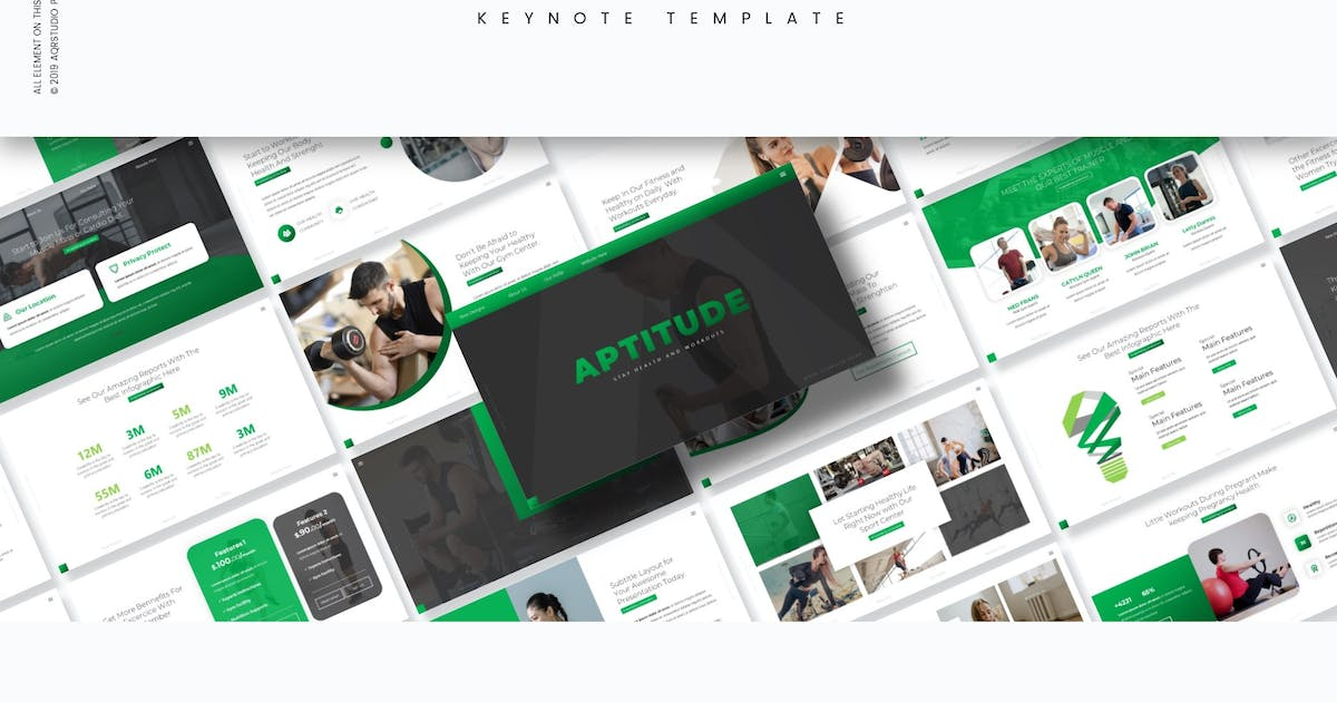 Download Aptitude - Keynote Template by aqrstudio