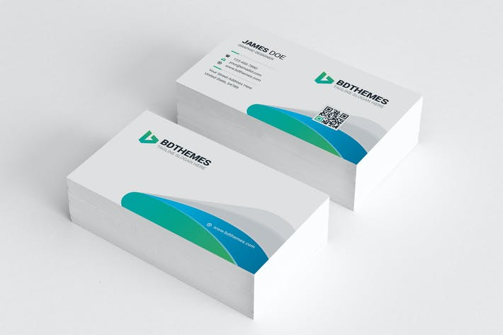 Thumbnail for Business Card Template 02