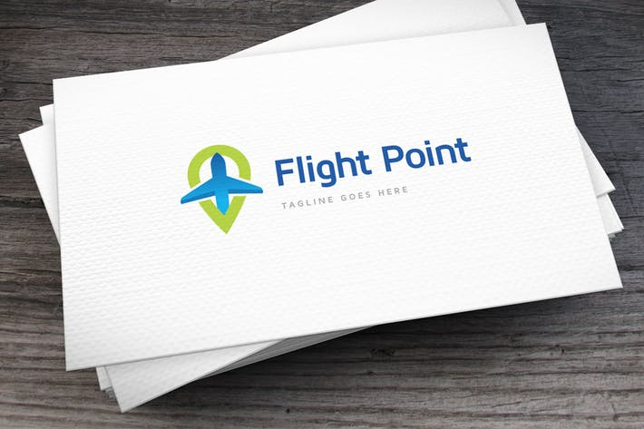 Thumbnail for Flight Point Logo Template
