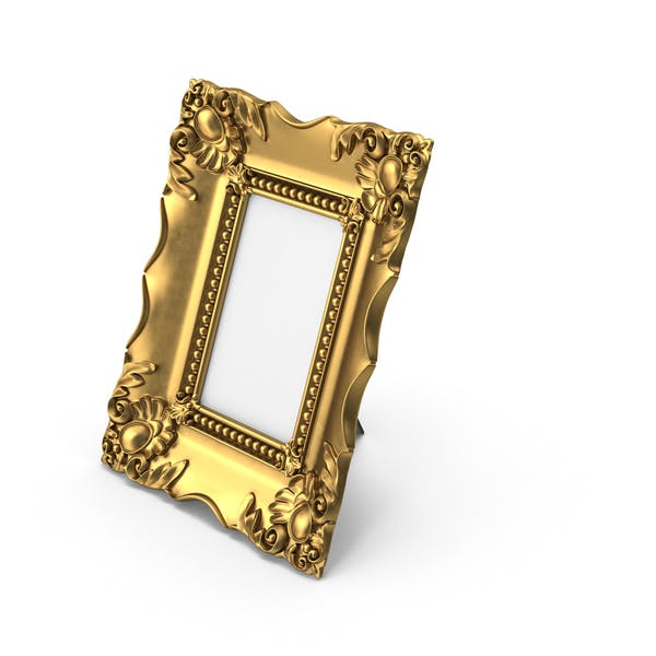 Baroque Picture Photo Frame Golden